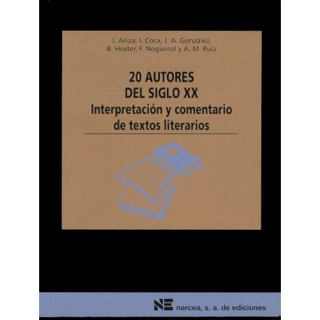 20 autores del siglo XX