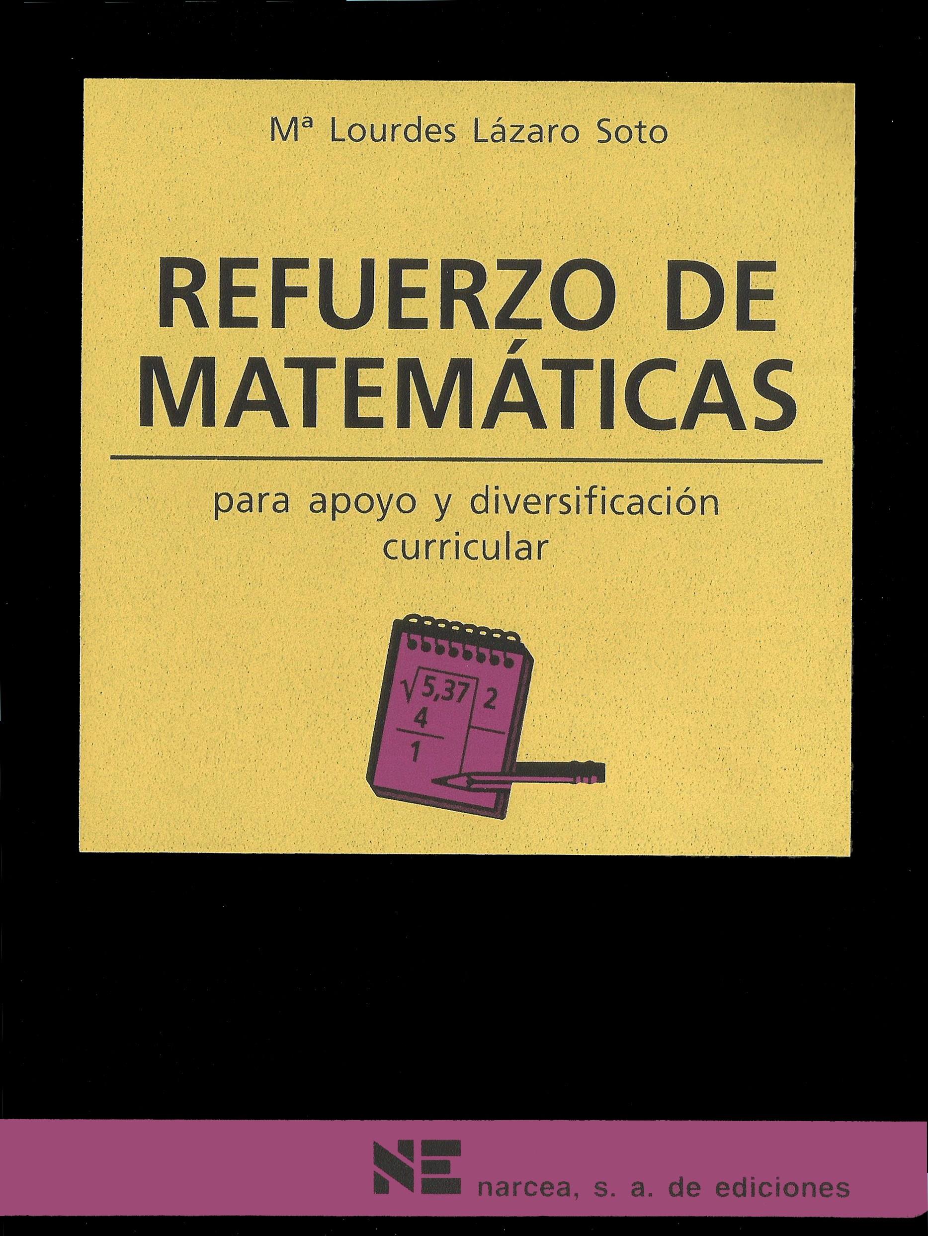 Refuerzo de Matemáticas