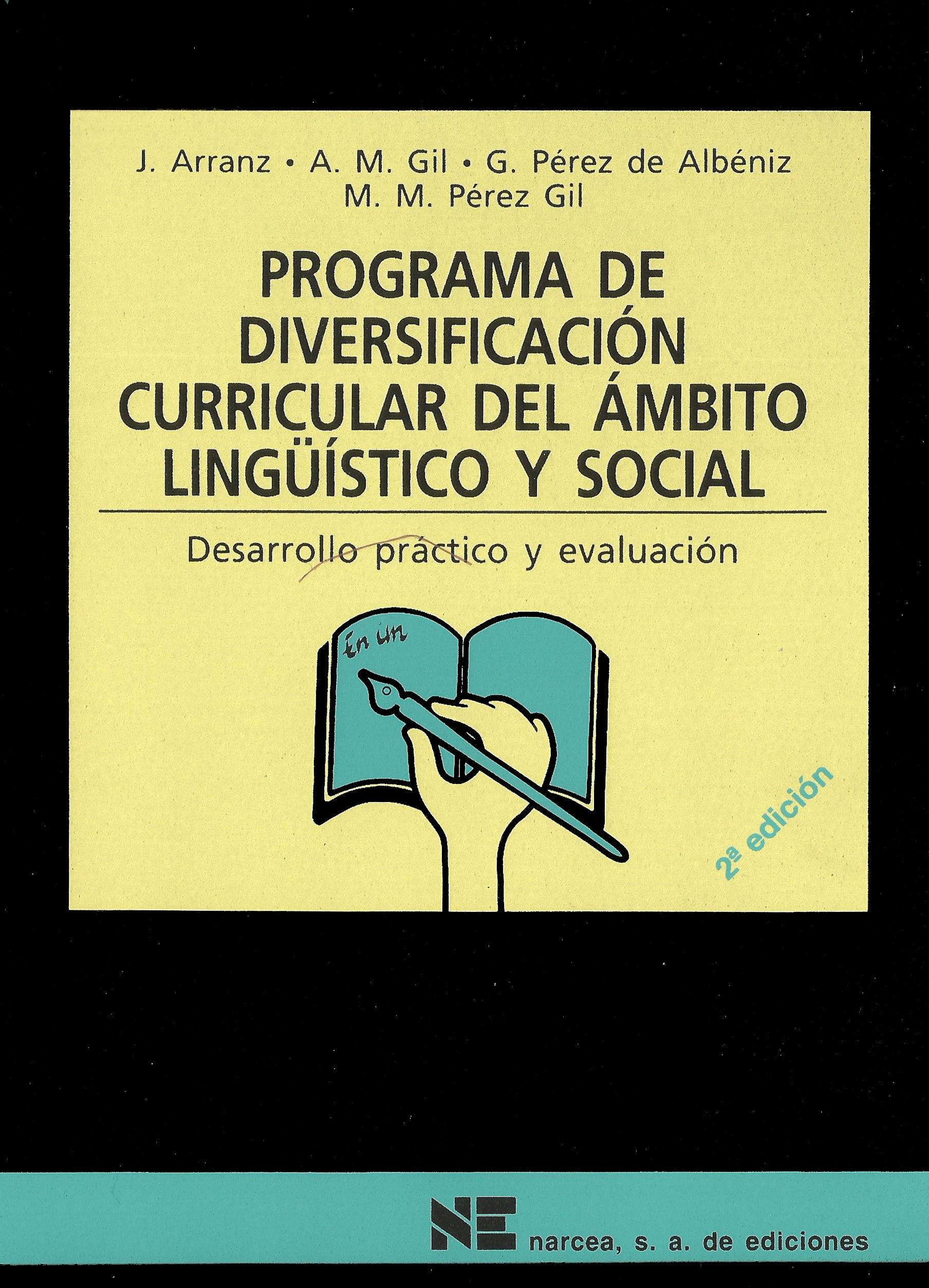 Programa de diversificacion curricular del ámbito lingüístico y social
