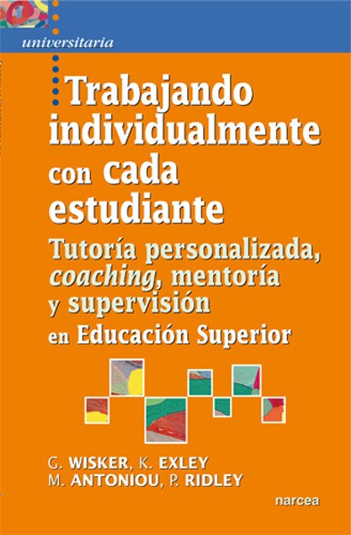 Trabajando individualmente con cada estudiante