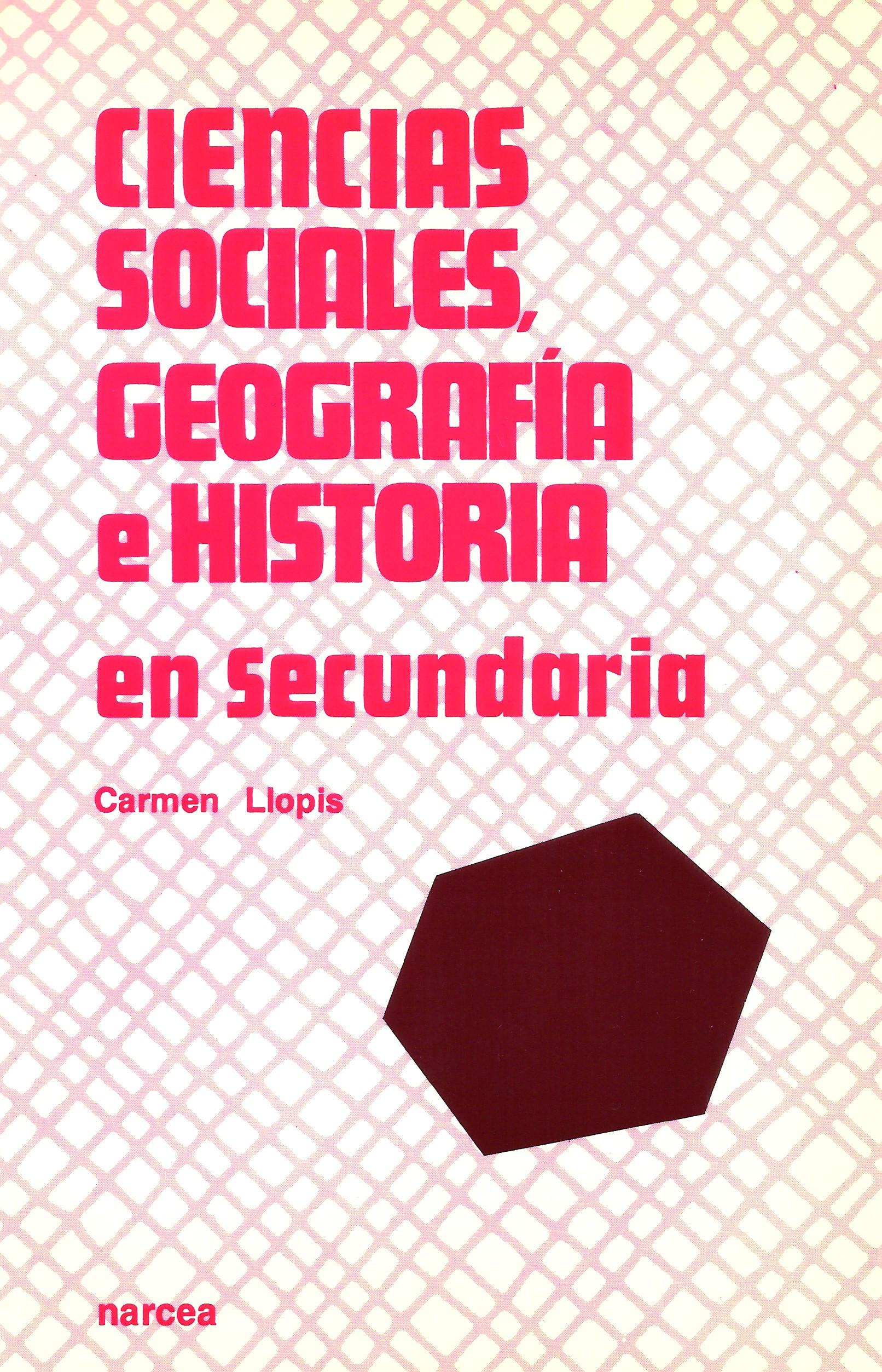 Ciencias Sociales, Geografía e Historia en Secundaria