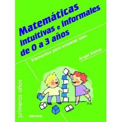 Matemáticas intuitivas e informales de 0 a 3 años