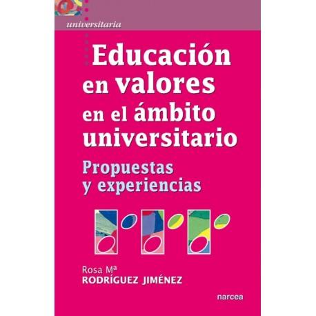 Educación en valores en el ámbito universitario