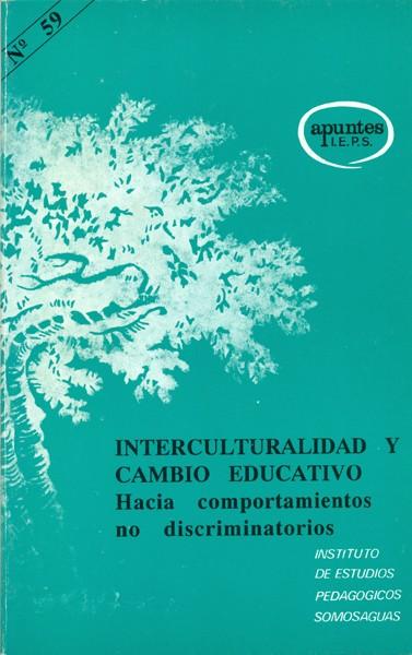 Interculturalidad y cambio educativo