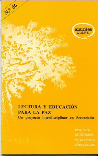 Lectura y educación para la paz